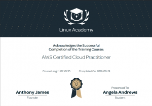 Passing the AWS Certified Cloud Practitioner Exam – A little